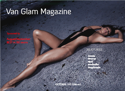 Van Glam Magazine October 2012 Edition