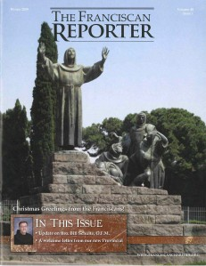 Franciscan Reporter Winter 2009
