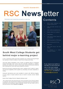 RSCni Newsletter Aug. 2012