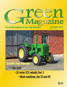 Green Magazine January 2013