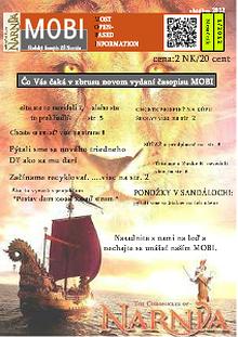 MOBI - školský časopis ZŠ Narnia