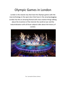 Olympic Games Tec 1371873 Aug.2012