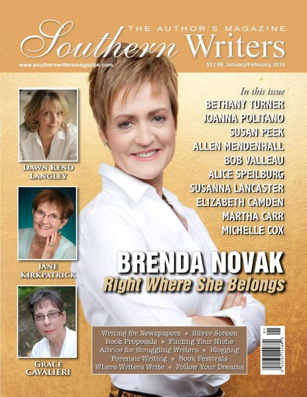 Southern Writers Magazine January issue