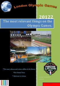 Olympic Games Aug. 2012