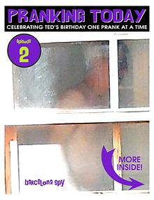 The Year of Pranking Ted: Episode One, Pie Face