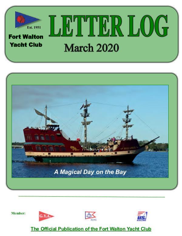 FWYC Letter Log March 2020