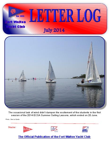 FWYC Letter Log July 2014