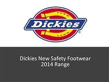 Dickies New Safety Footwear