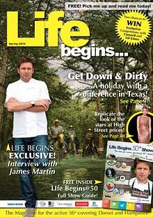 Life Begins 50+ Magazine