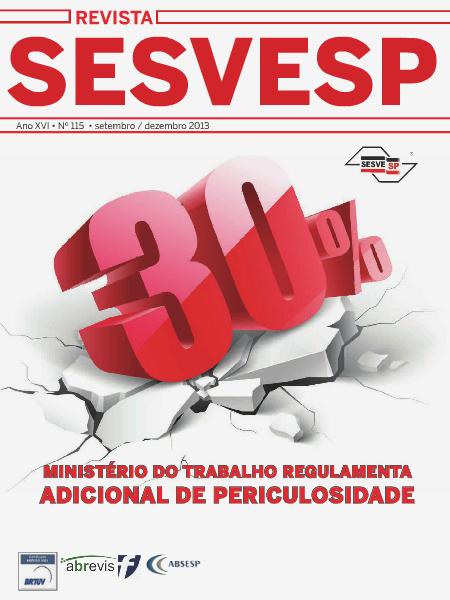 Revista Sesvesp Ed.115 - setembro / dezembro 2013