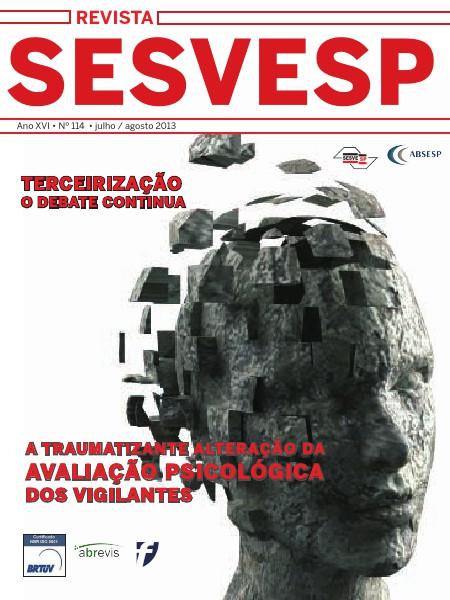 Revista Sesvesp Ed. 114 - julho / agosto 2013