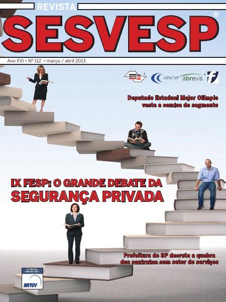 Revista Sesvesp Ed. 112 - março / abril 2013