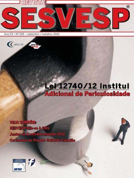 Revista Sesvesp Ed. 109 - setembro / outubro 2012