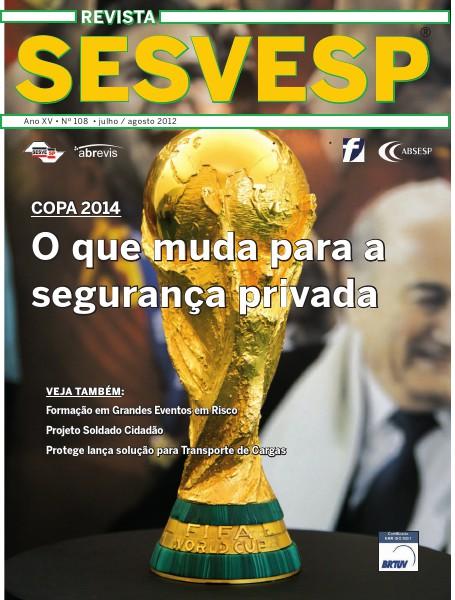 Revista Sesvesp Ed. 108 -  julho / agosto 2012