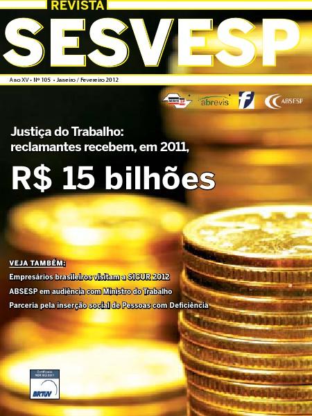 Revista Sesvesp Ed. 105 - Janeiro / Fevereiro 2012
