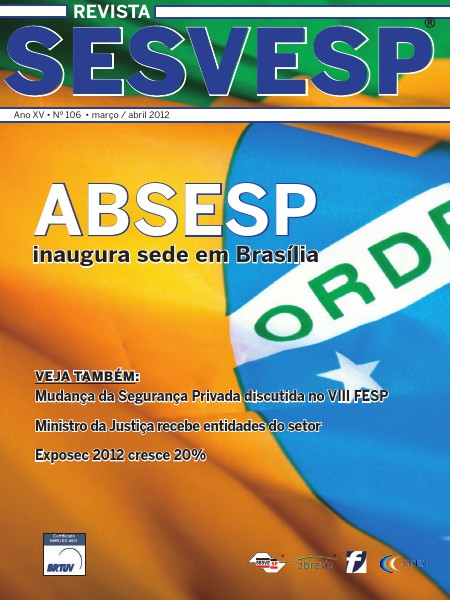 Revista Sesvesp Ed. 106 - março / abril 2012