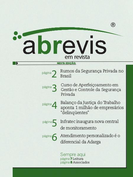 Revista ABREVIS Ed. 110