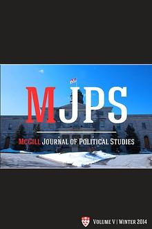 McGill Journal of Political Studies 2014
