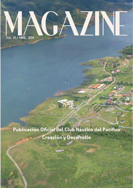 Magazine del Club Náutico del Pacífico Vol.1, Abril 2014