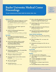 Baylor University Medical Center Proceedings