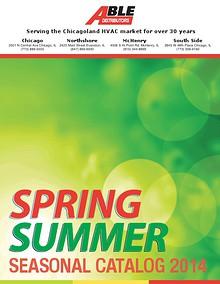 Summer Seasonal Catalog 2014
