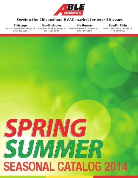 Able Distributor Summer Catalog 2014 May 2014