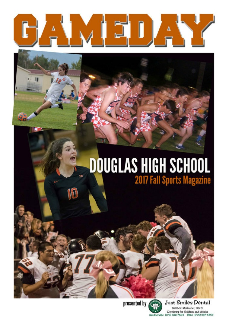 Douglas High Gameday Douglas High School 2017 Fall Sports Program