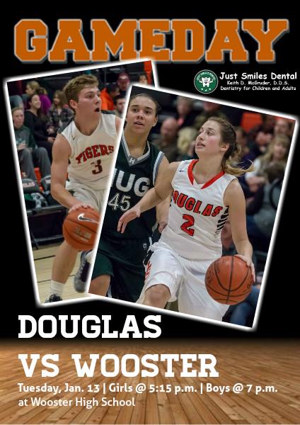 Douglas High Gameday Douglas vs. Wooster, Jan. 13