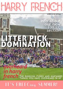 Harry French Hall E-Magazine