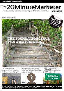 The 20-Minute Marketer Magazine