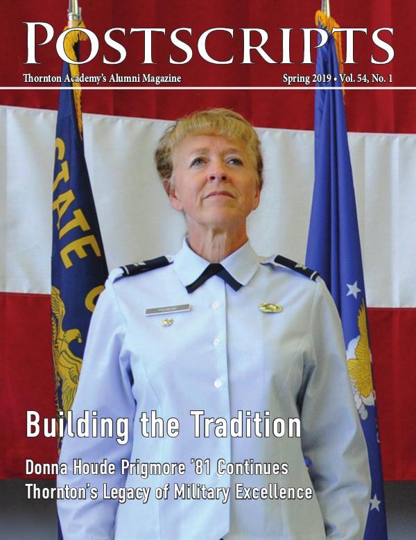 Thornton Academy Postscripts Alumni Magazine Spring 2019