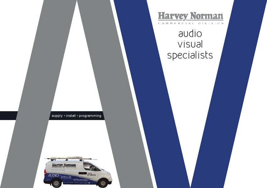 Harvey Norman Commercial Audio Visual Specialists 2015