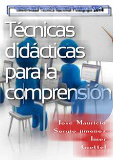 Técnicas didácticas para la comprensión de pedagogia