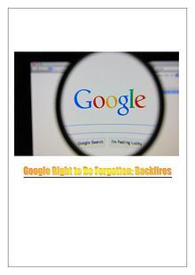 Lawsuit Against Google