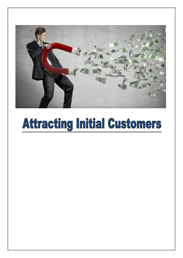 Some Tips To Attract New Customers 1