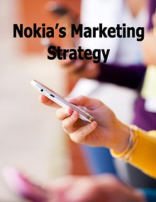 Analysis of Nokia's Marketing Strategy