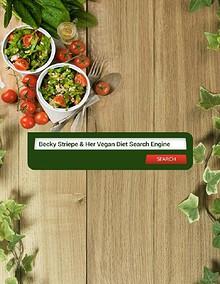 Becky Striepe & Her Vegan Diet Search Engine