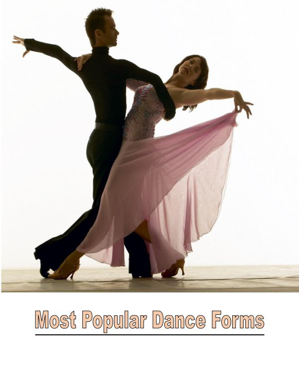 Forms of Dance 1