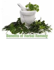 Advantages of Herbal Remedies