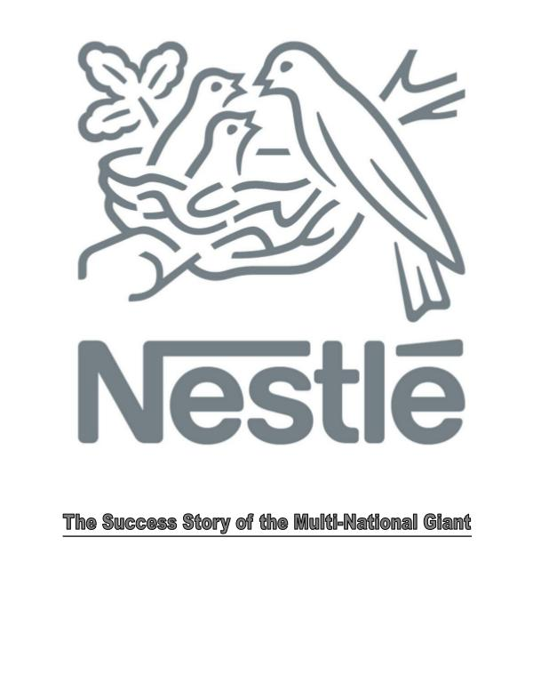nestl company overview It was founded in 1867 by henri nestle was listed no1 in we use your linkedin profile and activity nestle ppt 1 it was founded.