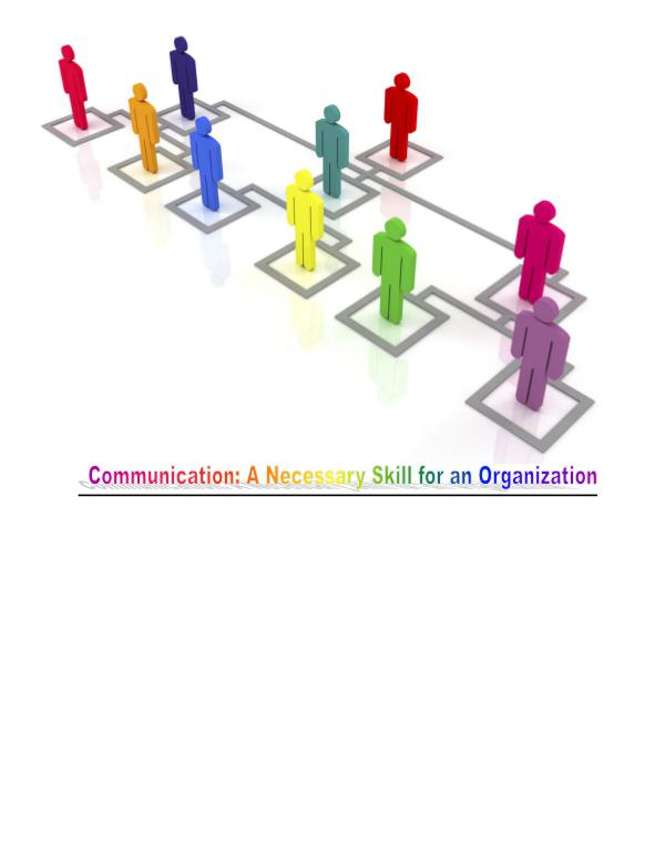 Competitive Advantage With Good Organizational Communication 1