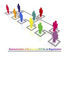 Competitive Advantage With Good Organizational Communication