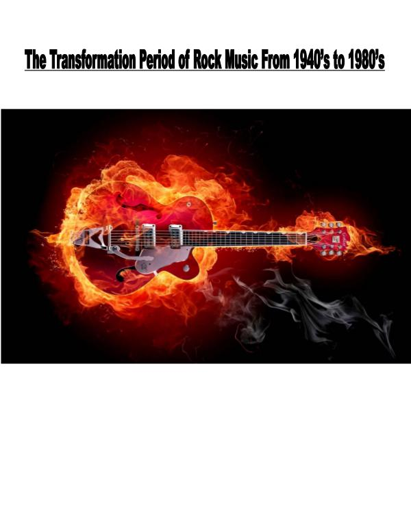 Transformation of Rock Music 1