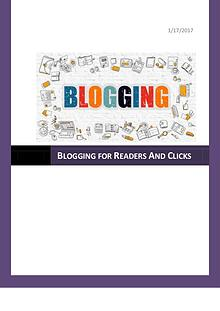 Blogging Generates Traffic for Website