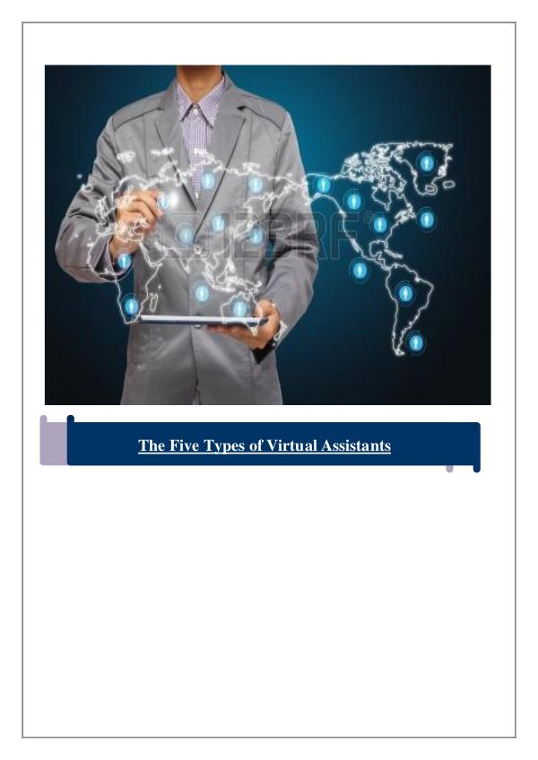 Types of Virtual Assistance 1