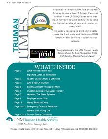 Truman Times Volume 10 May/June