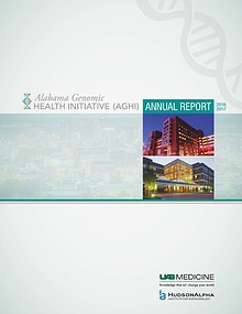 Alabama Genomic Health Initiative Annual Report