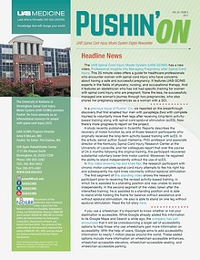 Pushin' On: UAB Spinal Cord Injury Model System Digital Newsletter