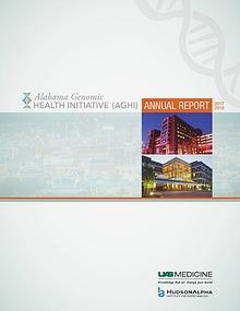 Alabama Genomic Health Initiative (AGHI) Annual Report 2017-2018