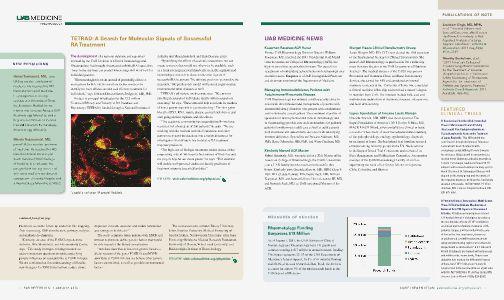 UAB Insight Rheumatology Volume 1 - Page 2